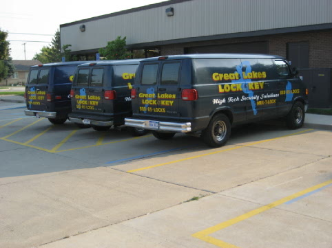 Commercial Door Installation, Repair & Maintenance Services: Roseville | Great Lakes Security Hardware - Truck2