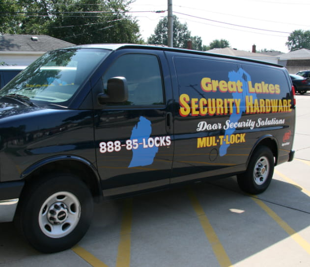 Great Lakes Security Hardware: Door Installation, Repair & Replacement - Roseville, MI - van